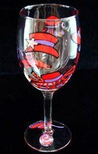 Bellissimo! Red Hat Dazzle Design Hand Painted Grande Wine Glass - 16 Ounces by Bellissimo!. Save 46 Off!. $34.95. Elaborately hand painted red hats adorned and embellished. Every product is thoroughly inspected to meet our strict quality control criteria. Design enthusiastically reflects the philosophy of fun and frivolity. A Thank You gift of handpainted mini salt & pepper shakers included (value $11.95).. Highly collectible, each piece of Bellissimo! is individually signed by the artist…
