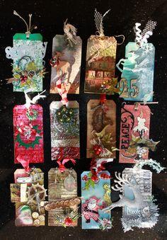 My 12 Tags of Christmas