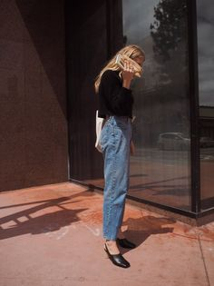 Women's fashion, periods and trousers – The Guardian – Fashion Outfits Mode Simple, Simple Style, All Jeans, Inspiration Mode, How To Pose, Street Style, Look Cool, Minimalist Fashion, Fashion Outfits