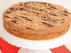 Jablkovo-orechový koláč s čokoládovým krémom Apple Cakes, Tiramisu, Baking, Ethnic Recipes, Sweet, Food, Candy, Apple Tea Cake, Bakken