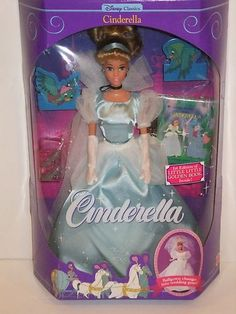 1991 Cinderella doll. (Before Disney decided to give all the princesses reconstructive surgery)