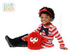 FREE Sparky the Lava Monster Amigurumi Toy PDF Crochet Pattern by IraRott