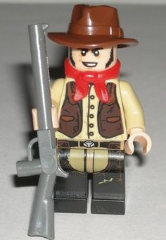 New Genuine LEGO Jesus Minifig The Lone Ranger 79108