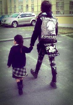 Punk parents