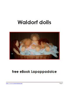 WALDORF DOLL TUTORIAL - Body of the doll with articulated limbs - Lapappadolce