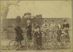 Bicycle club by State Library of Victoria Collections, via Flickr