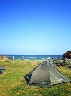 camping du Parc de Gros-Cap, îles de la Madeleine Camping, Outdoor Gear, Islands, Tent, Travelling, Canada, Madeleine, Sea Kayak, Water Activities
