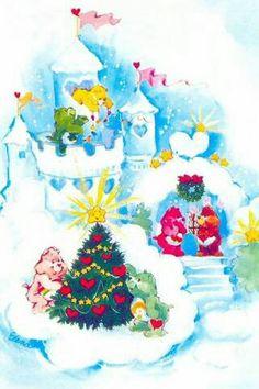 Care Bears: Christmas with Funshine, Good Luck, Cheer, Wish, Love-a-Lot and Tenderheart Bear