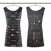 boite a bijoux rangement pour bijoux suspendre noir - Miroir Range Bijoux
