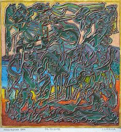 Original Fantasy Painting by Ivan Lozica Oil On Canvas, Canvas Art, Original Art, Original Paintings, Dream Painting, Fantasy Paintings, Cold War, Free Paper, Art Oil