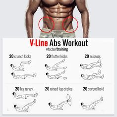 V-Line ABS workout! crunch kicks flutter kicks scissors leg reises raised leg circles second hold Do it all this exercise on above pics, everyday for maximum effect ! Related posts:A perfect starter workout for weight loss!Exercise: One-arm towel rowExerc Fitness Workouts, Gym Workout Tips, Abs Workout Routines, Ab Workout At Home, At Home Workouts, Fitness Tips, Fitness Motivation, Workout Abs, Workout Videos