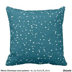 Merry Christmas snow pattern - winter pattern