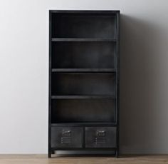 RH baby&child's Vintage Locker Bookcase:As sturdy as the all-American originals that inspired it, the Vintage Locker collection has authentic details like vented drawer fronts and an antiqued finish for a timeworn feel.