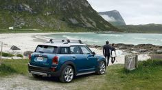 Even a Mini can be the perfect ride to outdoor adventure.