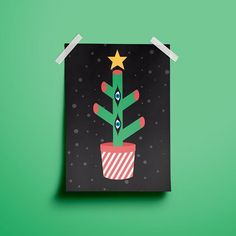 For now, this Christmas this little ugly thing is my only christmas tree. 😱💖🎄 . #illustration #geometric #vector #colorful #love #magic #typography #cute #magical #dream #nature #eyes #graphicdesign #landscape #picame #digitalartist #vectorillustration #dailyartistiq #artwork #thednalife #art #illusion #redbubblecreate #illustree #graphicdesigncentral #happiness #redbubble #art_spotlight #society6 #design
