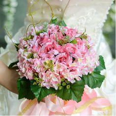 Hortensia Lite Steg Brude Buketter Bryllup Holde Blomster