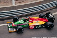 1987 GP USA (Thierry Boutsen) Benetton B187 - Ford