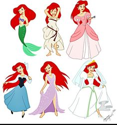 Ariel's Outfits
