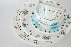 Vintage Anchor Hocking Dinnerware-want, want, want