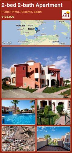 2-bed 2-bath Apartment in Punta Prima, Alicante, Spain ►€105,000 #PropertyForSaleInSpain