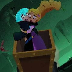 Tangled Cartoon, Tangled Rapunzel, Disney Rapunzel, Disney Pixar, Disney Facts, Cassandra Tangled, Punk Disney Princesses, Tangled Series, Looney Tunes Cartoons