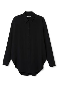 Weekday Amy Shirt in Black