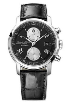 Baume & Mercier Watches - Classima Executives Contemporary Extra Large Chronograph - Style No: M0A08733