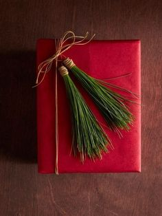 Modern Christmas gift wrapping