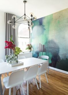 Wandfarbe Aquarell   Tolle Ideen Für Jeden Hausbesitzer