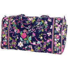 Vera Bradley Large Duffel Bag- but in petal paisley or plum crazy