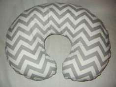 boppy cover,chevron boppy cover with zipper, boppy covers, nursing pillow cover. $25.00, via Etsy.