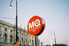 buerox-corporate-design-museumsquartier_06 Corporate Design, Museum, Branding, Neon Signs, Brand Management, Brand Design, Identity Branding, Museums, Branding Design