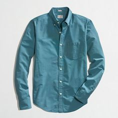 J.Crew Factory - Factory slim washed shirt in horizontal microstripe - $31
