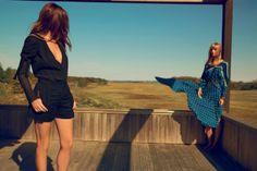 Lou Doillon and Julia Stegner for Chloé Spring 2014