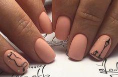 Top 40 Cute Nail Designs ideas for Short Nails Cat Nail Art, Cat Nails, Pink Nails, Love Nails, Pretty Nail Art, Stylish Nails, Perfect Nails, Manicure And Pedicure, Short Nails