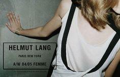 dixias:    Helmut Lang Fall 2004 ad campaignby Juergen Teller