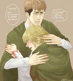 Jean x Armin ~Comfort~ {Shingeki No Kyojin}