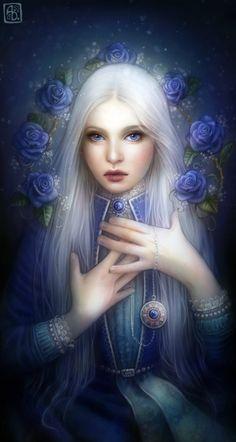 fantasy by Anna Dittmann Character Inspiration, Character Art, Illustrator, Fantasy Kunst, Anime Fantasy, Elfa, Fantasy Art Women, Fantasy Pictures, Pictures Images