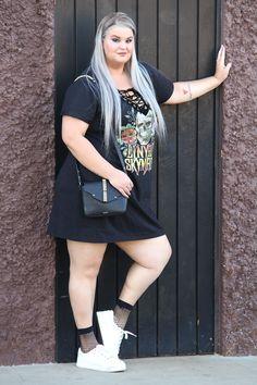 Plus Size Curvy Fashion Chubby Fashion, Fat Fashion, Older Women Fashion, Plus Size Fashion, Girl Fashion, Fashion Brands, Fashion Clothes, Fashion Art, Fashion Dresses