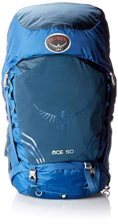 Osprey Youth Ace 50 Backpack, Night Sky Blue, One Size: The Ace 50 is a technical backpack for young outdoor enthusiasts ages The referenced age range is a recommendation only. Height and weight may vary from child to child. Best Tents For Camping, Camping And Hiking, Hiking Gear, Tent Camping, Camping Gear, Best Hiking Backpacks, Cool Backpacks, Osprey Backpacks, Popular Backpacks
