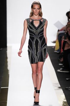 Herve Leger by Max Azaria Ready-To-Wear Spring/Summer 2014