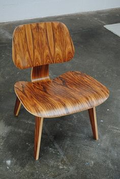 - Eames  My parents had this chair in their bedroom for years. Wonder what happened to it.