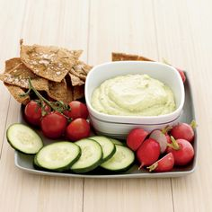 The Good News To create this tasty dip, Lee Anne Wong blends soft or silken tofu (which has an especially custardy texture) with high-potassium avocad...