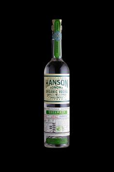 Hanson Vodka on Behance