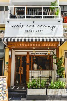 Cafe Shop Design, Coffee Shop Interior Design, Bakery Design, Restaurant Interior Design, Store Design, House Design, Small Cafe Design, Small Coffee Shop, Coffee Shops