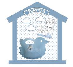 Cornice personalizzata Bodibù con il nome del bambino