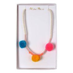 Pom pom necklace | Sierraden & Haar accessoires | Miniverse