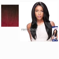 Empress Lace Front Edge Custom Lace Wig Straight - Color T1B/BG - Synthetic (Curling Iron Safe) Stocking Cap Custom Lace Wig - Closed Invisible Part