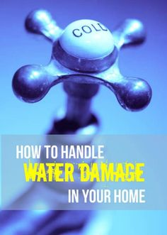 Tip of the Day: #Water #damage at home can be disastrous, not just due to damages it could cause to your many valued possessions but in addition the danger it could cause to your quality of life.