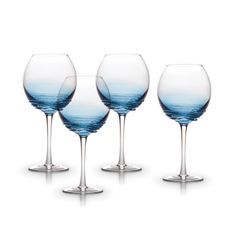 Mikasa's Swirl Cobalt stemware adds a touch of fun and color to any decor and they're great for gift giving and entertaining. Made of colored glass, each piece features a...